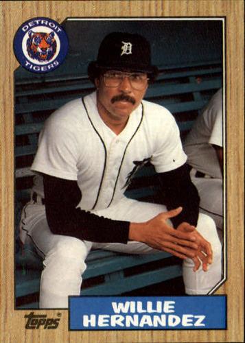Photo of 1987 Topps #515 Willie Hernandez