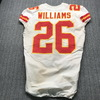 Crucial Catch - Chiefs Damien Williams Signed Game Used Jersey (9/15/19) size 40