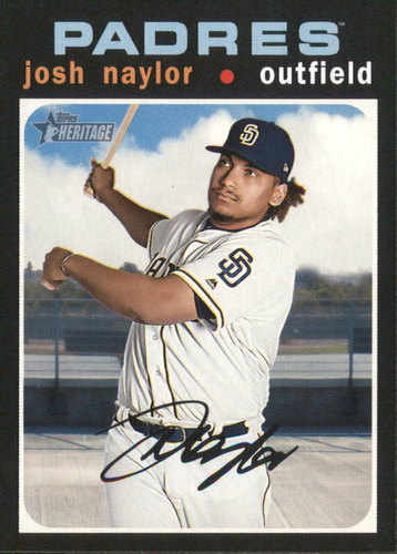 Photo of 2020 Topps Heritage #363 Josh Naylor