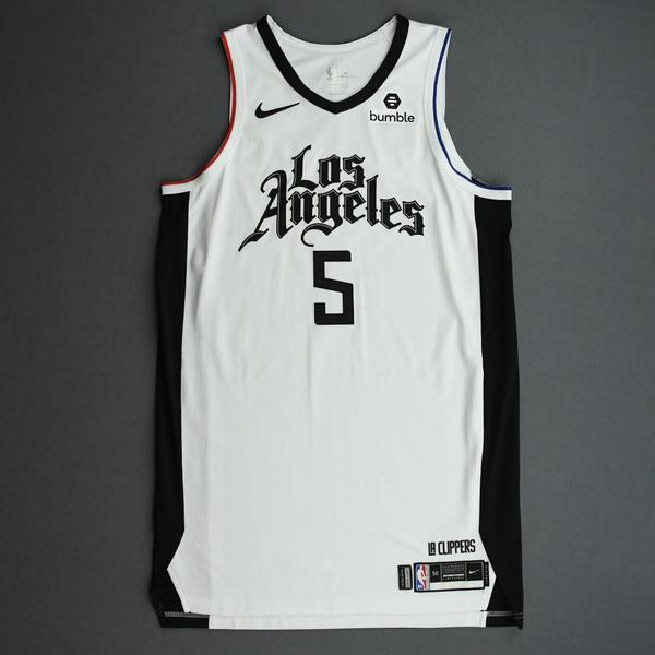 Image of Montrezl Harrell - Los Angeles Clippers - Game-Worn City Edition Jersey - 2019-20 Season