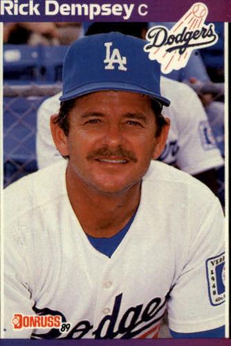 Photo of 1989 Donruss #432 Rick Dempsey