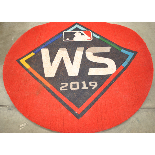 Photo of Game-Used On Deck Circle - 2019 World Series - Washington Nationals vs. Houston Astros - Houston Astros On Deck Circle - Games 1,2,6,7