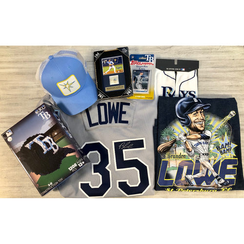 Photo of Rays Baseball Foundation Player Package: Brandon Lowe