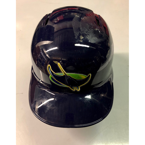 Photo of Game Used 2R Home Run Helmet: Avisail Garcia - August 31, 2019 v CLE