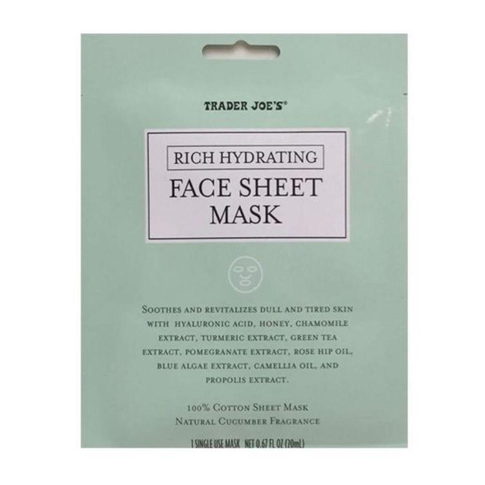 Photo of Rich Hydrating Cucumber Turmeric Face Sheet Mask