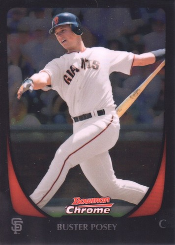 Photo of 2011 Bowman Chrome #1 Buster Posey