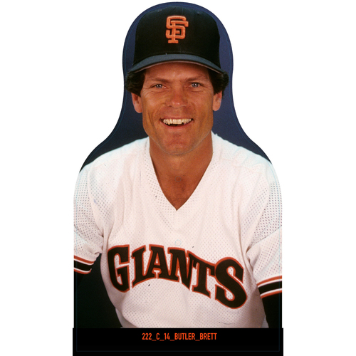 Photo of Giants Community Fund: Giants Brett Butler Cutout