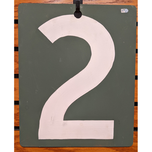 Photo of Fenway Park September 19, 2019 Game Used Green Monster Scoreboard #2