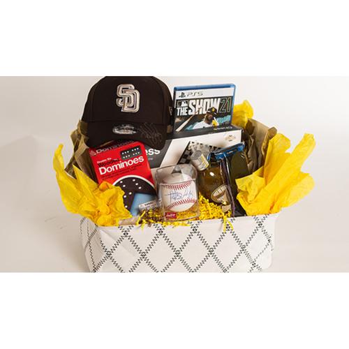 "Photo of Fernando Tatis Jr. ""Favorite Things"" Basket - Pick-Up Only at Petco Park"