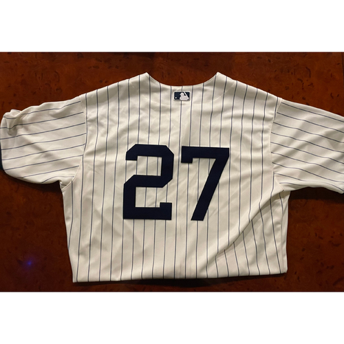 Lucas Giolito Game-Used Jersey - August 12, 2021 - Dyersville, Iowa