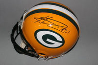 NFL - PACKERS HAHA CLINTON-DIX SIGNED PACKERS PROLINE HELMET