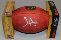 CHIEFS - TYREEK HILL SIGNED AUTHENTIC FOOTBALL