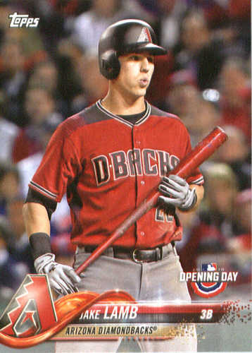Photo of 2018 Topps Opening Day #9 Jake Lamb