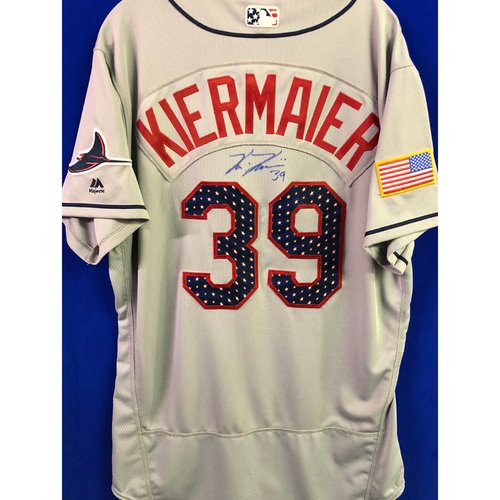 Photo of July 4th Team Issued Autographed Jersey: Kevin Kiermaier