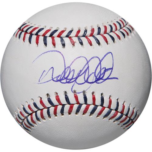 Photo of Derek Jeter Autographed 2014 All-Star Game Baseball