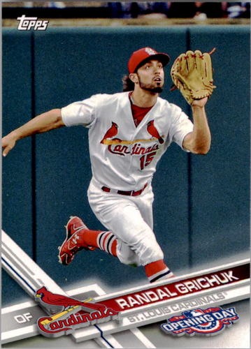 Photo of 2017 Topps Opening Day #24 Randal Grichuk