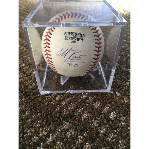 Photo of Puerto Rico Series Game-Used Baseball