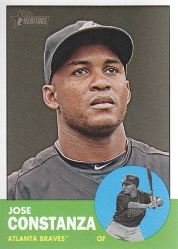Photo of 2012 Topps Heritage #238 Jose Constanza RC