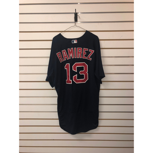 Photo of Hanley Ramirez Team Issued 2018 Road Alternate Jersey