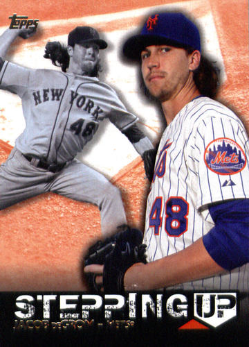 Photo of 2015 Topps Stepping Up #SU20 Jacob deGrom