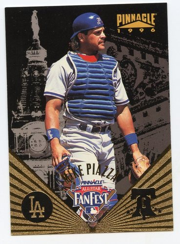 Photo of 1996 Pinnacle FanFest #10 Mike Piazza