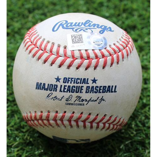 Photo of Game-Used Baseball: Charlie Tilson 58th Career Hit (CWS @ KC - 6/9/19)