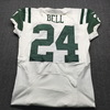 Jets - Bell Game Issued Away Jersey