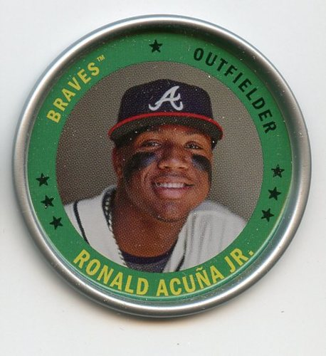 Photo of 2019 Topps Archives Coins #C25 Ronald Acuna Jr.