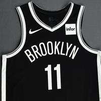 Kyrie Irving - Brooklyn Nets - Kia NBA Tip-Off 2019 - Game-Worn Icon Edition Jersey - Nets' Debut - 50 Points Scored - NBA Record for Most Points Scored In Team Debut