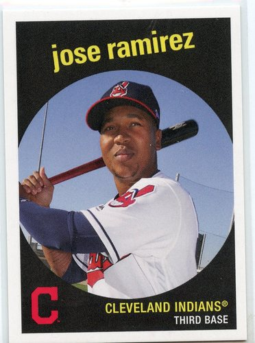 Photo of 2018 Topps Throwback Thursday #164 Jose Ramirez/'59 Topps BB