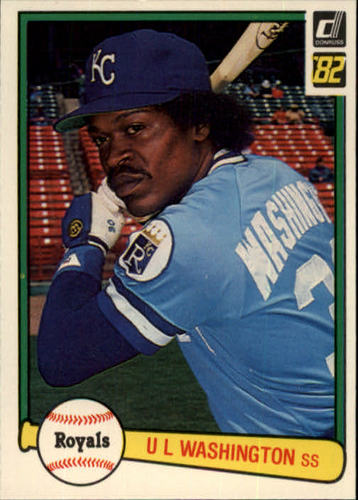 Photo of 1982 Donruss #160 U.L. Washington