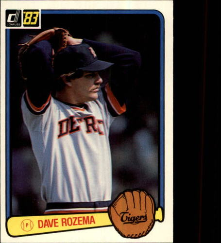 Photo of 1983 Donruss #133 Dave Rozema