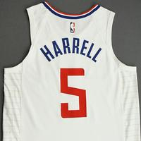 Montrezl Harrell - Los Angeles Clippers - Game-Worn Association Edition Jersey - NBA Canada Series - 2019-20 NBA Preseason