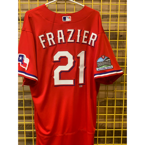 Photo of Todd Frazier Team-Issued Red Jersey