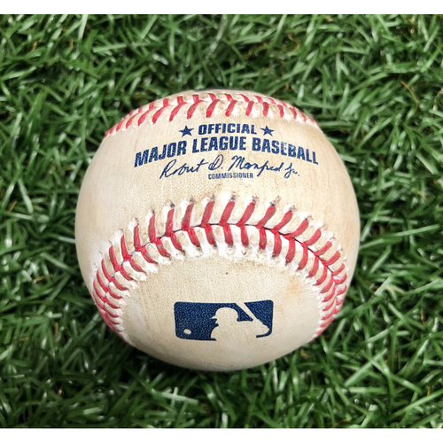 Photo of Game Used Baseball: Juan Soto foul ball off Oliver Drake - September 16, 2020 v WSH