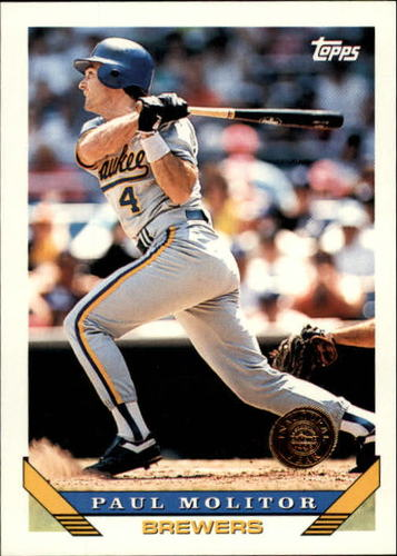 Photo of 1993 Topps Inaugural Rockies #207 Paul Molitor