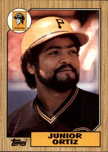 Photo of 1987 Topps #583 Junior Ortiz