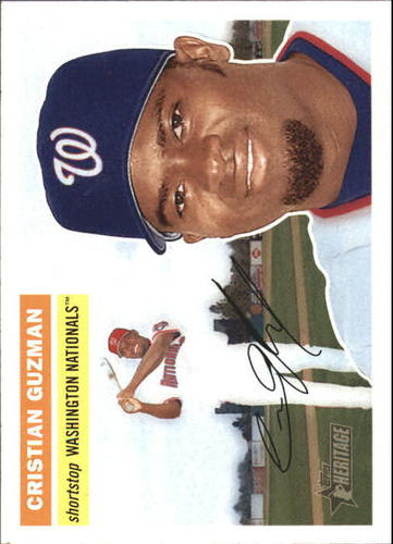 Photo of 2005 Topps Heritage #109 Cristian Guzman