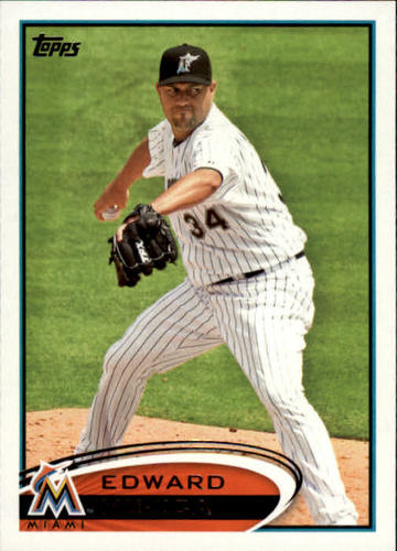 Photo of 2012 Topps #178 Edward Mujica