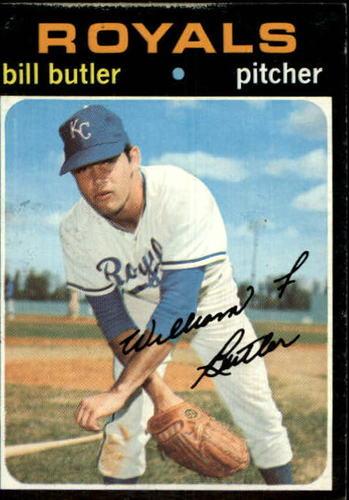 Photo of 1971 Topps #681 Bill Butler