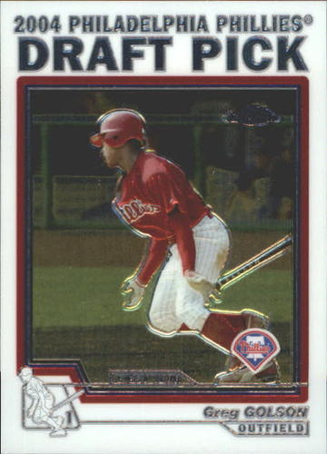 Photo of 2004 Topps Chrome Traded #T73 Greg Golson DP RC