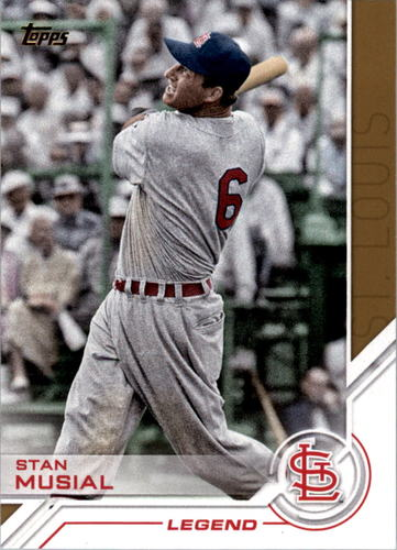 Photo of 2017 Topps Salute #S99 Stan Musial