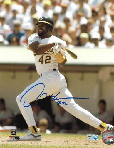 Photo of Dave Henderson Autographed 8x10
