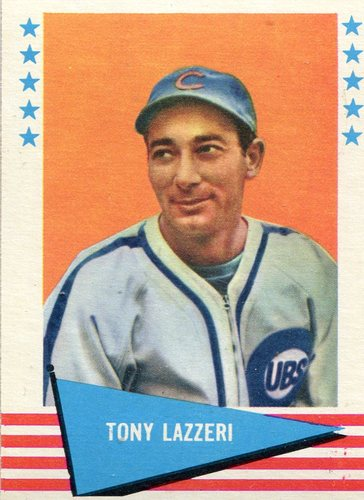 Photo of 1961 Fleer #54 Tony Lazzeri -- Hall of Fame Class of 1991