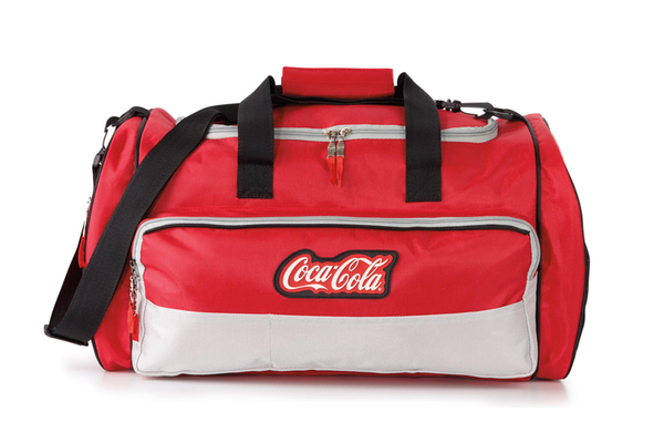 Clickable image to visit Redeem Now: Coca-Cola® Duffle