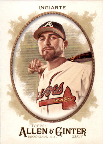 Photo of 2017 Topps Allen and Ginter #291 Ender Inciarte