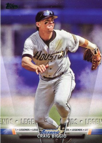 Photo of 2018 Topps Salute #TS32 Craig Biggio