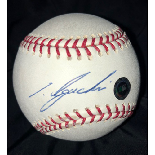 Photo of Tadahito Iguchi Autographed Baseball