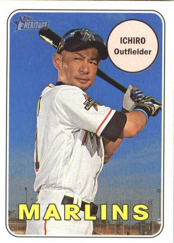 Photo of 2018 Topps Heritage #300 Ichiro