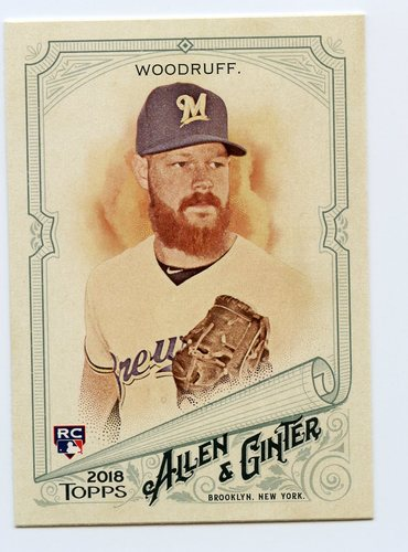 Photo of 2018 Topps Allen and Ginter #304 Brandon Woodruff SP RC